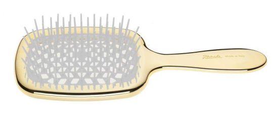 Расческа для волос Janeke Superbrush Gold