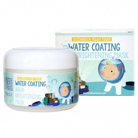 Увлажняющая ночная маска Elizavecca Face Care Milky Piggy Water Coating Aqua Brightening Mask