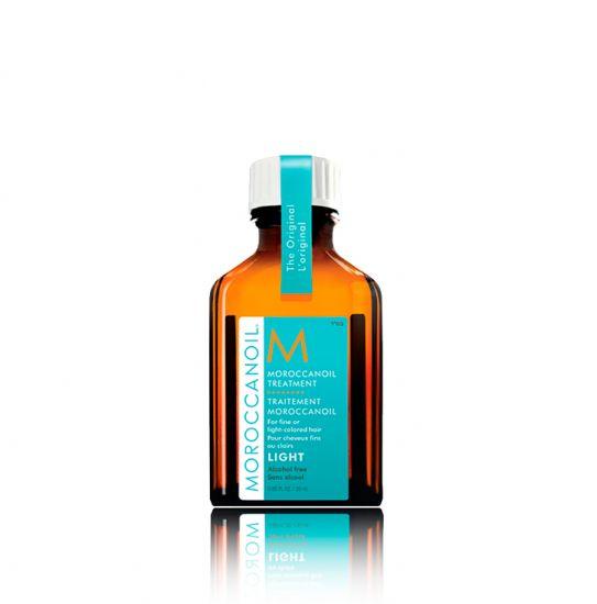 Восстанавливающее масло для тонких и светлоокрашенных волос Moroccanoil Light Oil Treatment 25 ml