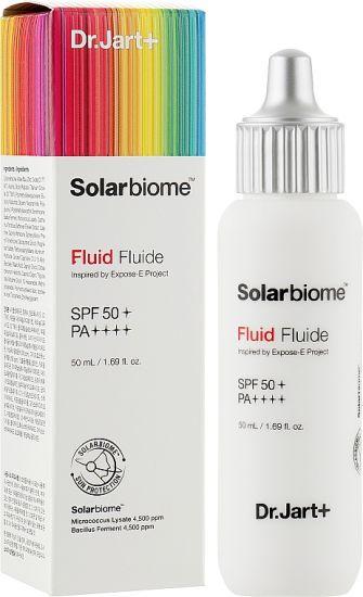 Солнцезащитный флюид Dr. Jart+  Soalrbiome Fluid SPF50+ PA++++