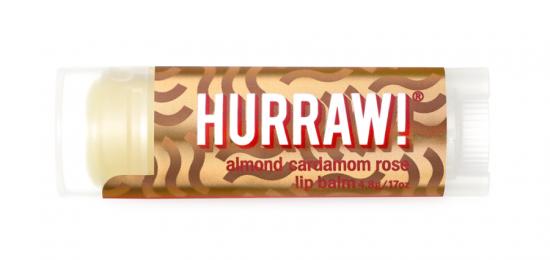 Бальзам для губ Hurraw! Vata Lip Balm  (миндаль, кардамон, роза)