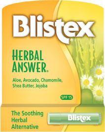 Бальзам для губ в стике (Травяной) Blistex Herbal Answer