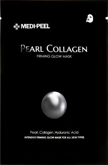 Тканевая маска с жемчужным коллагеном Medi Peel Pearl Collagen Firming Glow Mask