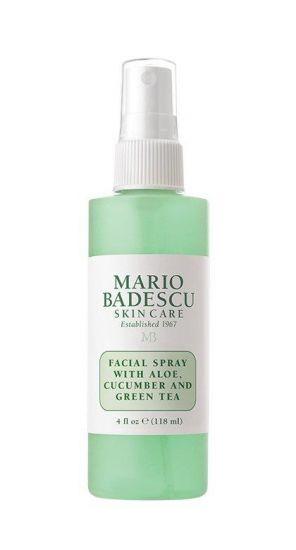 Спрей для лица с экстрактами алоэ вера, огурца и зеленого чая Mario Badescu Facial Spray with Aloe, Cucumber & Green Tea
