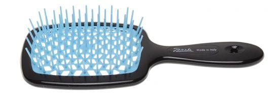 Расческа для волос Janeke Superbrush Black Blue
