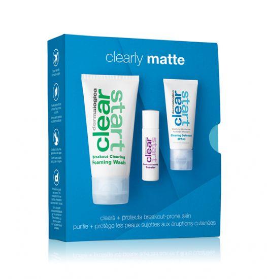 """Лечебный набор для проблемной кожи """"Очищение и защита"""" Dermalogica Сlearly Matte Kit"""