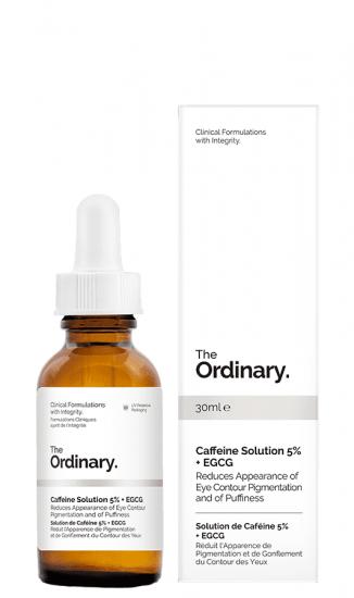 Сыворотка против отеков и темных кругов под глазами The Ordinary Caffeine Solution 5% + EGCG