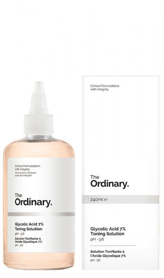 Тоник для лица с гликолевой кислотой The Ordinary Glycolic Acid 7% Toning Solution
