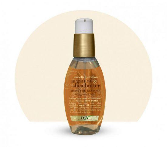 Масло для волос OGX Argan Oil & Shea Butter