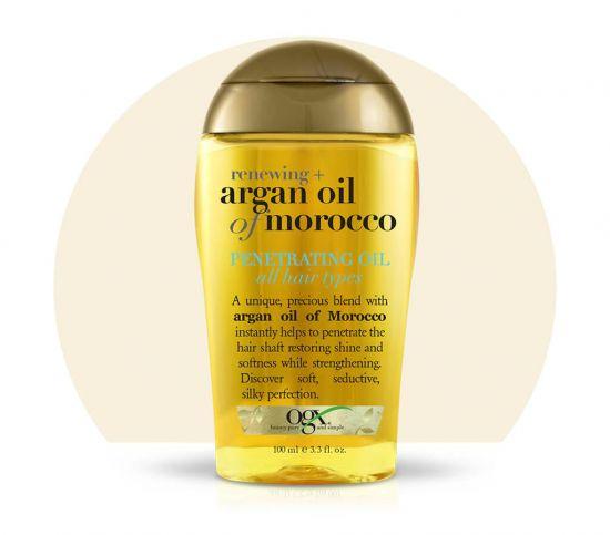 Аргановое масло для волос OGX Moroccan Penetrating Oil