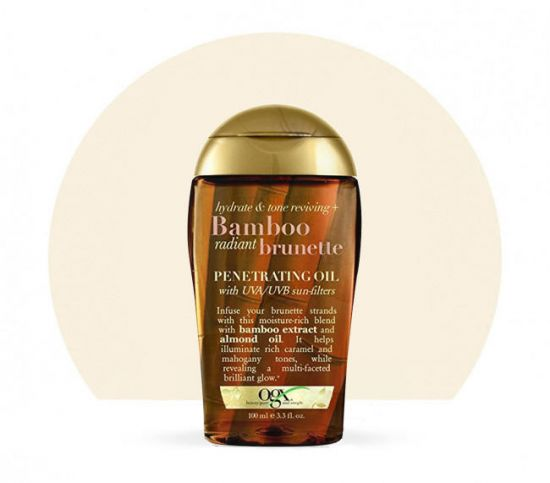 Масло для волос OGX Bamboo Brunette Penetrating Oil