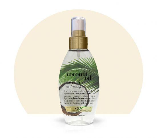 Кокосовое масло - спрей OGX Weightless Hydrating Oil Mist