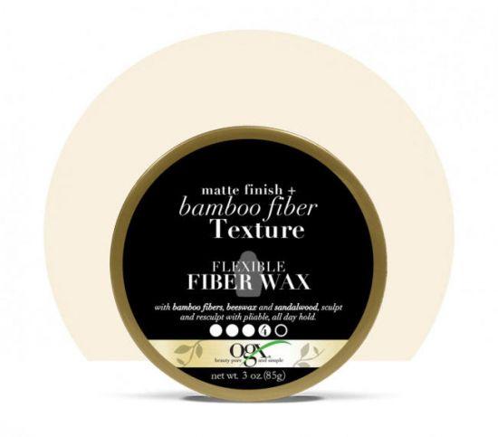 Воск для укладки волос OGX Bamboo Fiber Texture Flexible Fiber Wax