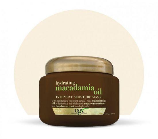 Питательная маска для волос OGX Macadamia Oil Intensive Moisture Mask