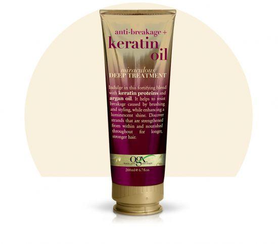 Маска для волос с кератином OGX 3-minute Miraculous Recovery Keratin Oil