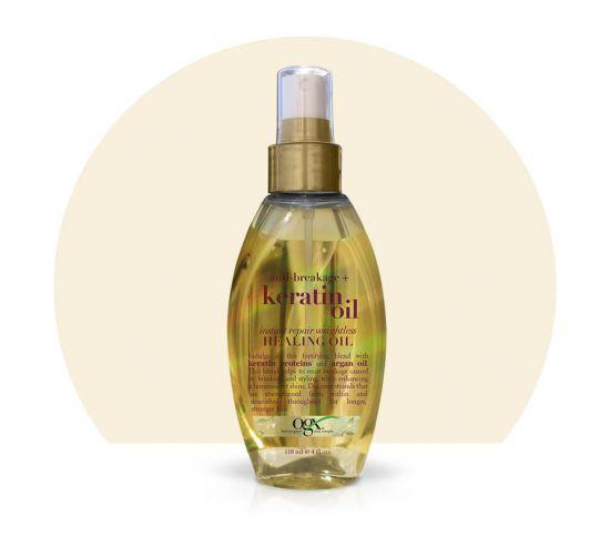 Масло-спрей для волос с кератином OGX Keratin Oil
