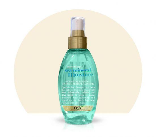 Спрей для волос OGX Sea Mineral Shimmering Weightless Moisture Replenisher