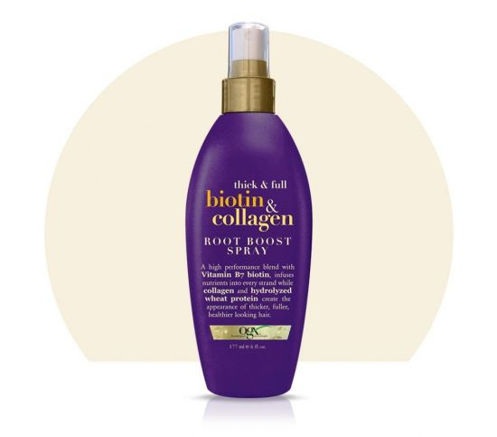 Спрей для объема волос OGX Biotin & Collagen Root Boost Spray
