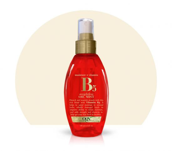 Масло-спрей для волос OGX Moisture+vitamin B5