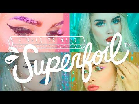 Двойные тени Lime Crime Superfoil Eyeshadow Duo