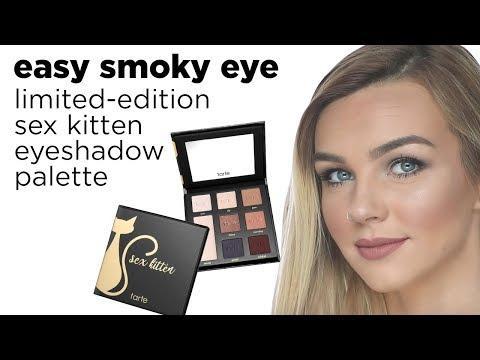 Лимитированная палитра теней Tarte Sex Kitten Eyeshadow Palette